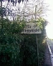Last Merseyside Road Sign