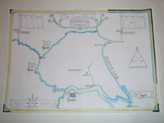 East Riding Map