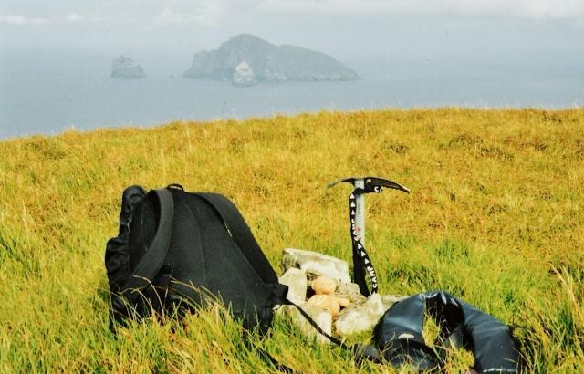 Soay, St Kilda - Summit