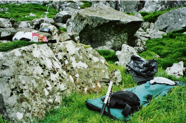 Soay, St Kilda - Bivy Bag Night