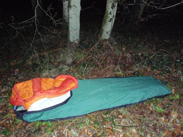Cowleaze Wood - Bivy Bag Night