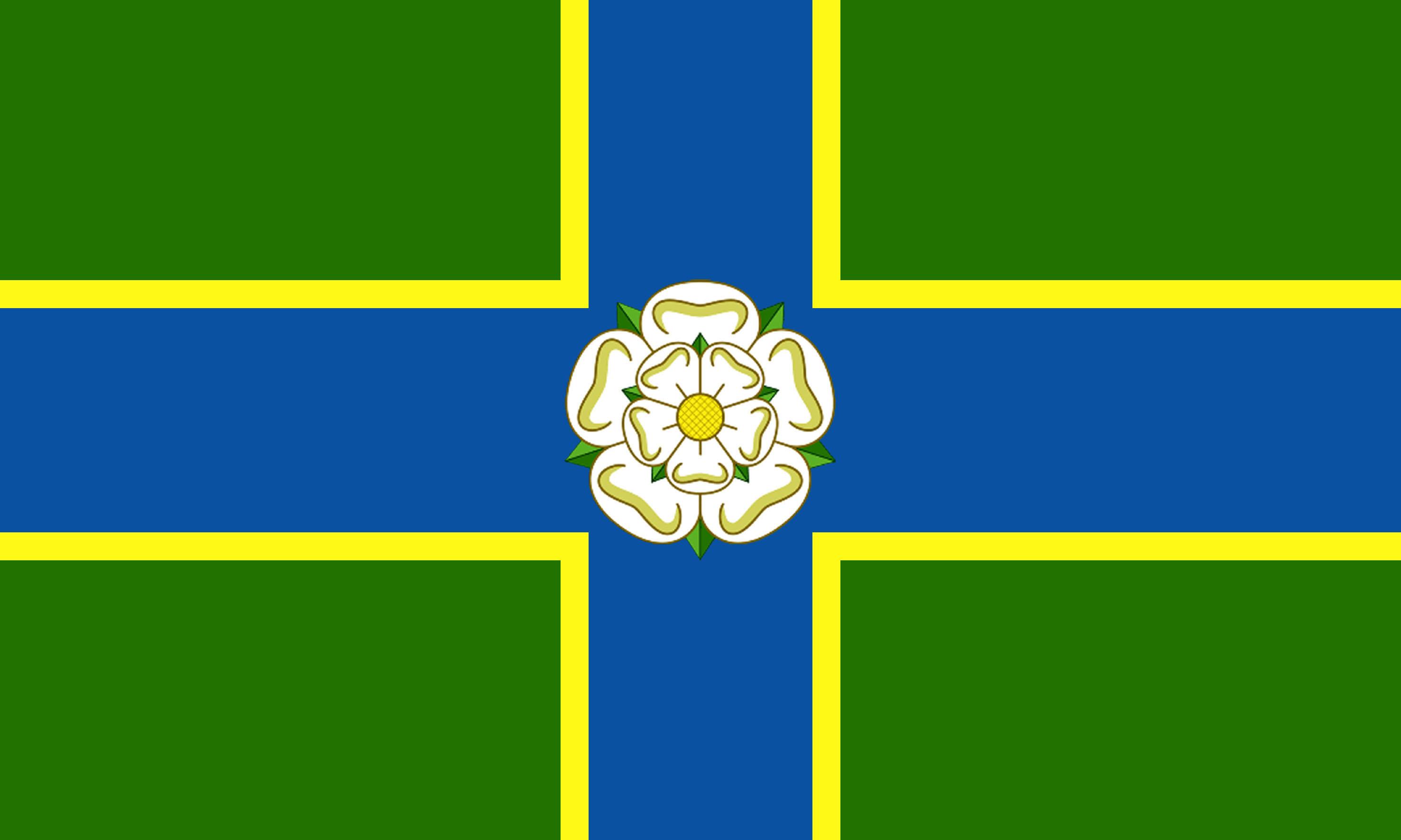 North Riding Flag Winning Design Andy Strangeway - north flags