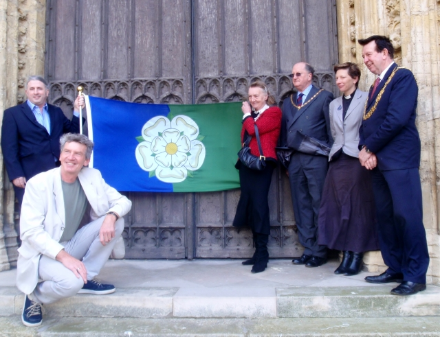 East Riding Flag Unfurling