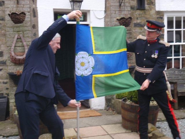North Riding Flag Unfurling 1
