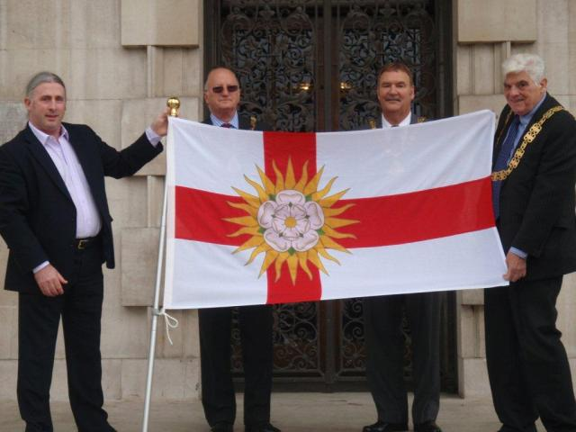 West Riding Flag Unfurling 1