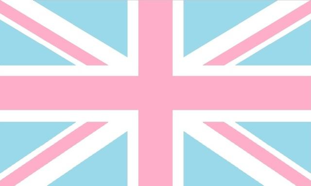 Union Jack - Pink