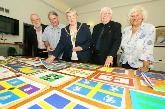 County Durham Flag Competition - The Judges