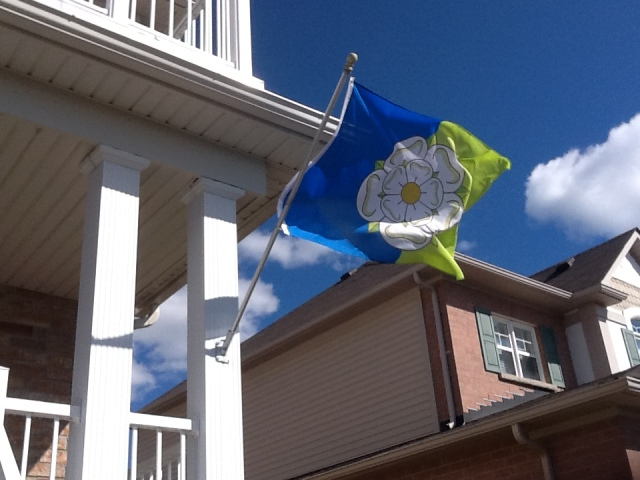 East Riding flag - Oshawa, Ontario, Canada