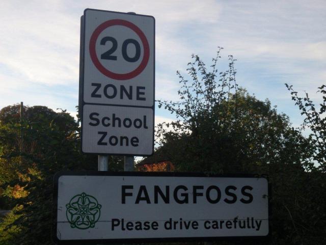 Fangfoss 20mph Zone