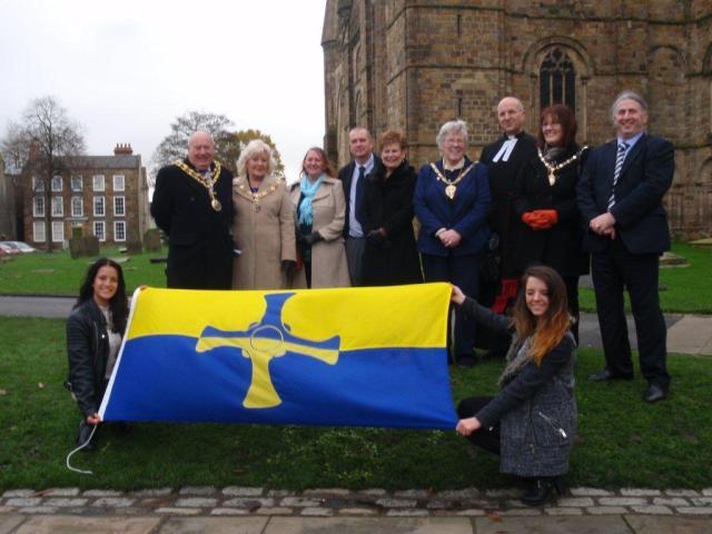 County Durham Flag Unfurling 2