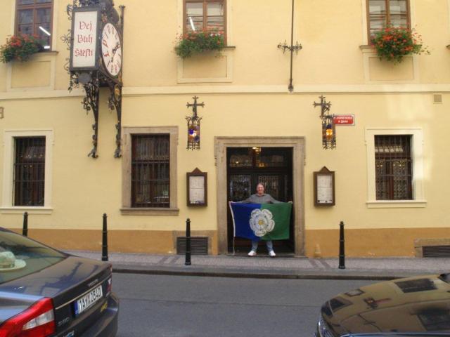 Prague - East Riding Flag
