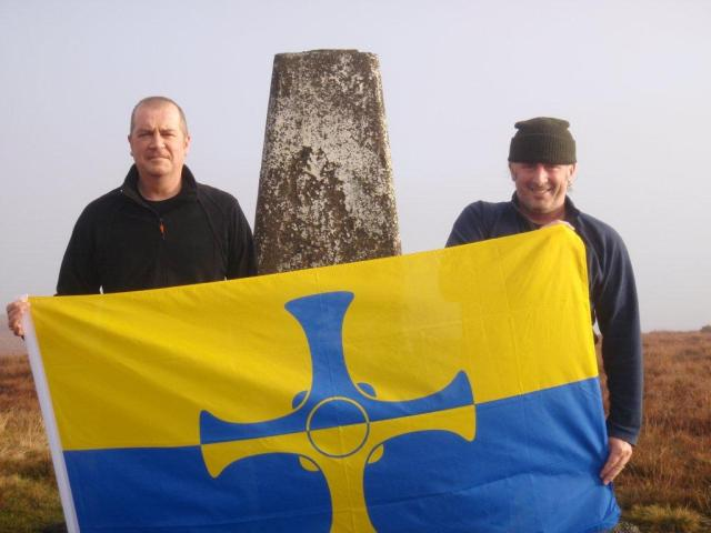 County Durham Flag - Burnhope Seat
