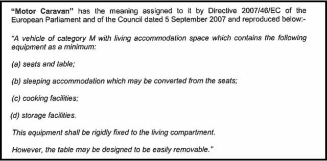 Motor Caravan Definition (2)