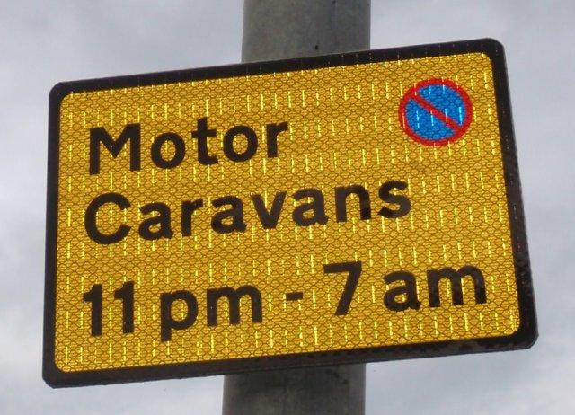 No Motor Caravans