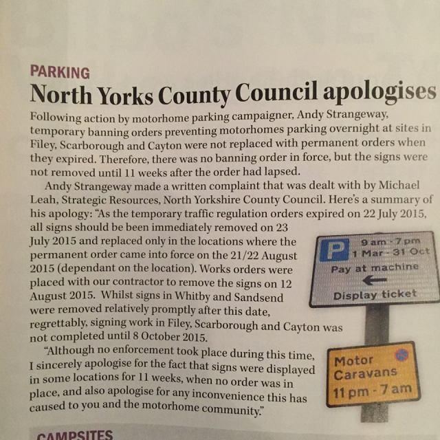 NYCC Apology